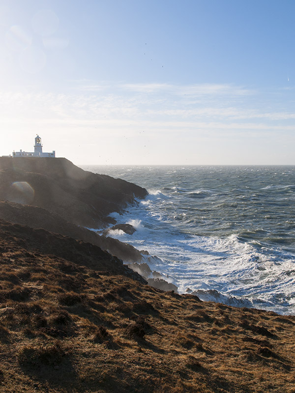 Strumble Head storm