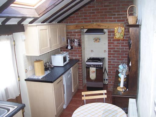 Ty Hendre kitchen