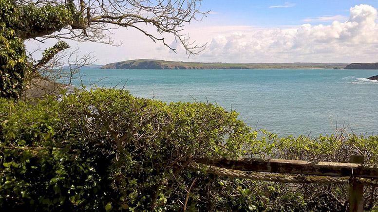 Y Bont View of bay