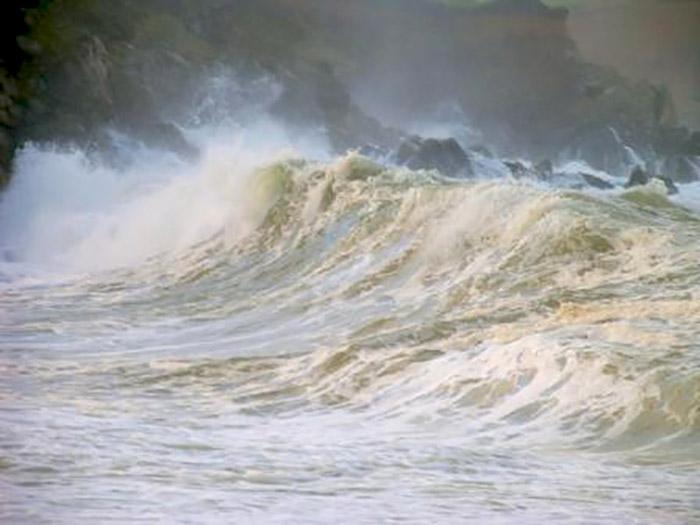 Aberbach in a storm